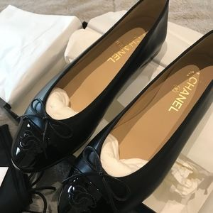 Chanel Ballerina Flats (NEVER WORN)